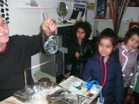 Hazırlık Gruplarının Cam Ustası Ziyareti