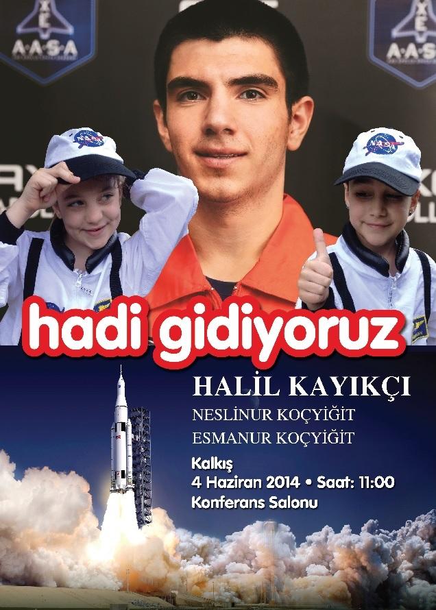 Uzaya Gidecek Ilk Türk Genci Alkevde