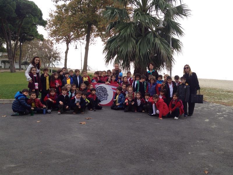 1. sınıflar Atatürk Deniz Köşkü ziyareti