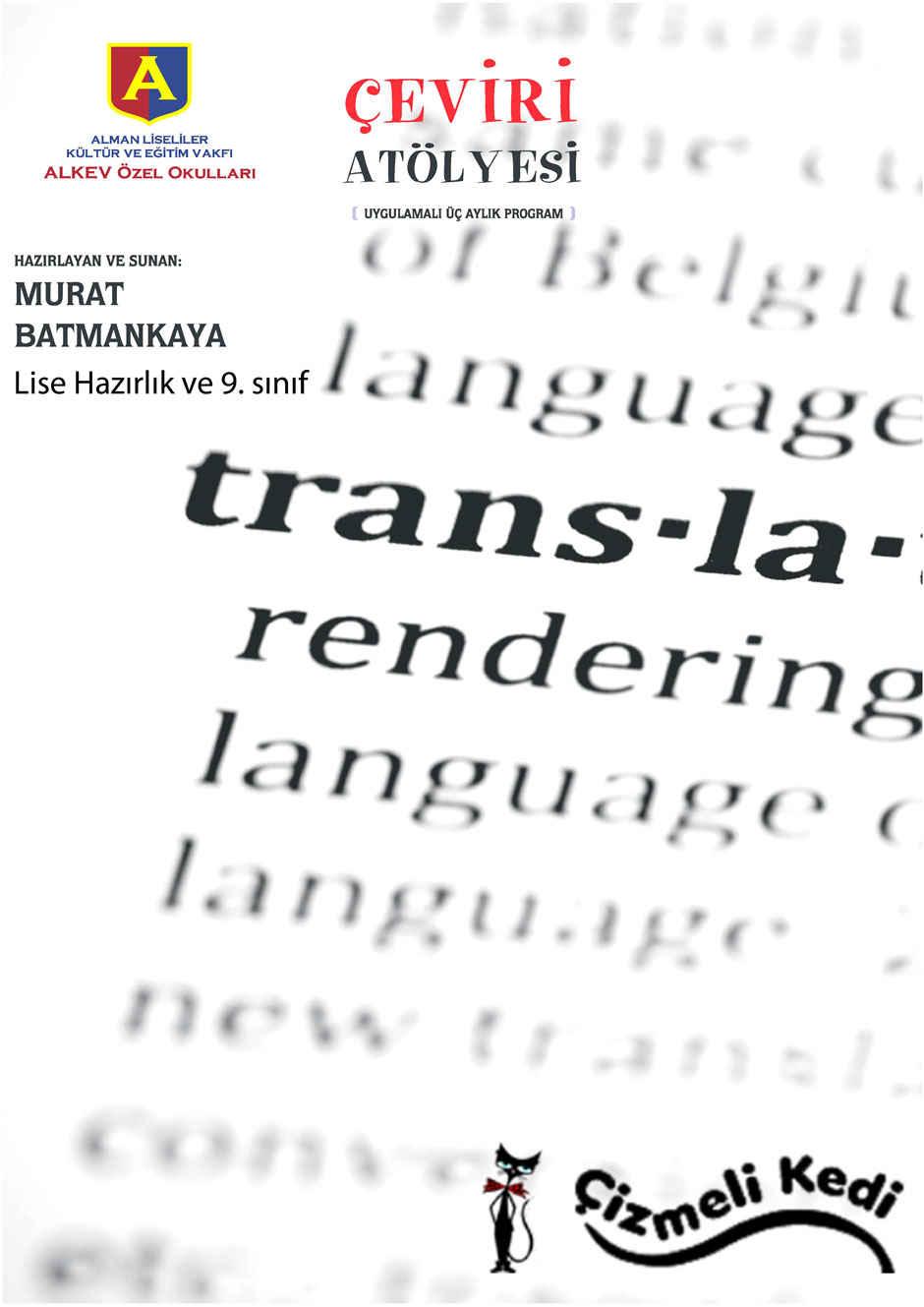 Çeviri Atölyesi