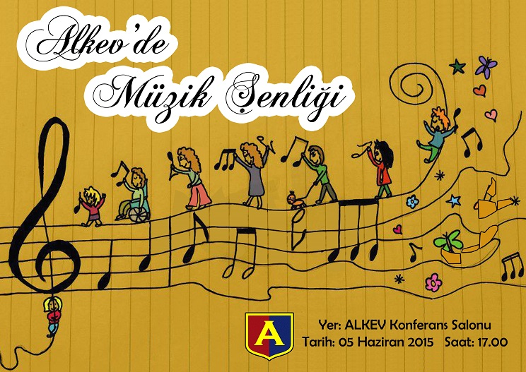 Alkev Okulları Müzik Şenliği Duyurusu