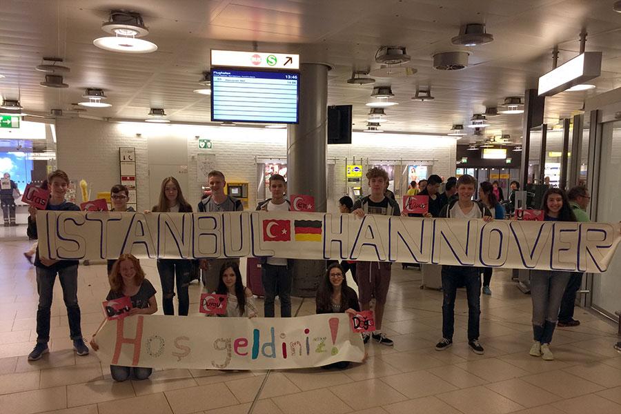 Hannover'de Türkiye ile ilk değişim programı