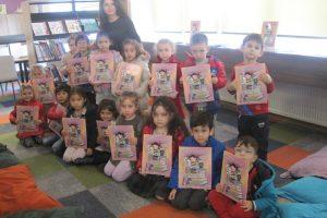 Kitapkurdu Lily, Anaokulu öğrencilerimizle buluştu!
