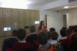 3. Sınıflarımız İş Bankası Müzesini Ziyaret Ettiler