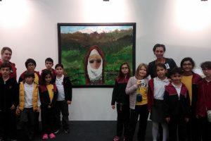 ALKEV 'li Öğrenciler Tüyap Sanat Fuarında