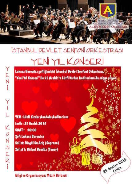 Yeni Yıl Konseri 25 Aralık – Lütfi Kırdar