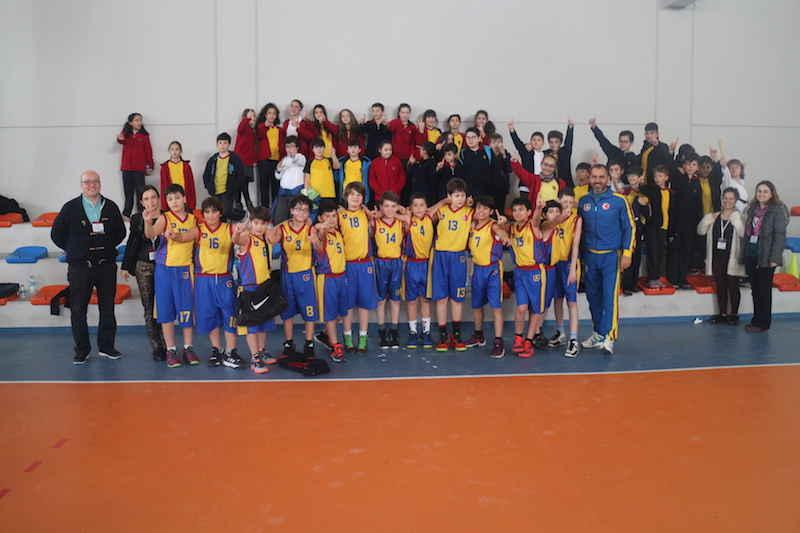 ALKEV Küçük Erkekler basketbol takımımız ŞAMPİYON! – Mart 2016
