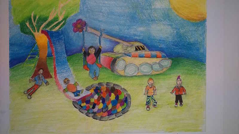 NishArt ile çocuklar duvarlarını özgürce boyayabiliyorlar 56