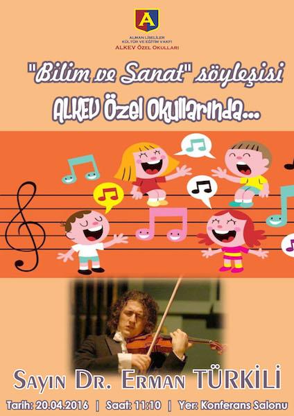 Bilim ve Sanat Söyleşisi Dr.Erman Türkili