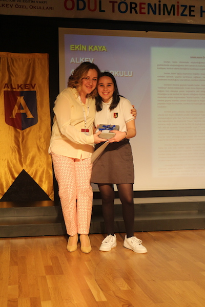 ALKEV Özel Ortaokulu Özgün Düşünce Ve Kompozisyon Yarışması Ödül Töreni