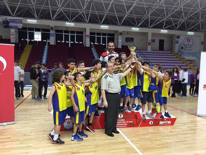 ALKEV Minik Erkek Basketbol Takımı ŞAMPİYON – Mayıs 2016