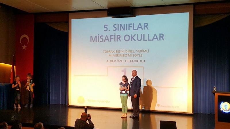 Bilim Şenliği ve Proje Yarışması'nda Birincilik – Mayıs 2016