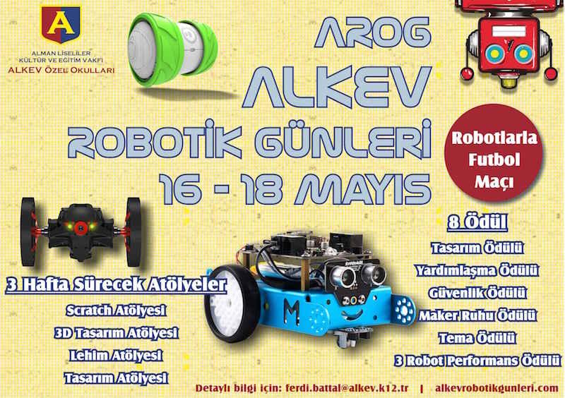 ALKEV Robotik Günleri Yarış Fikstürü