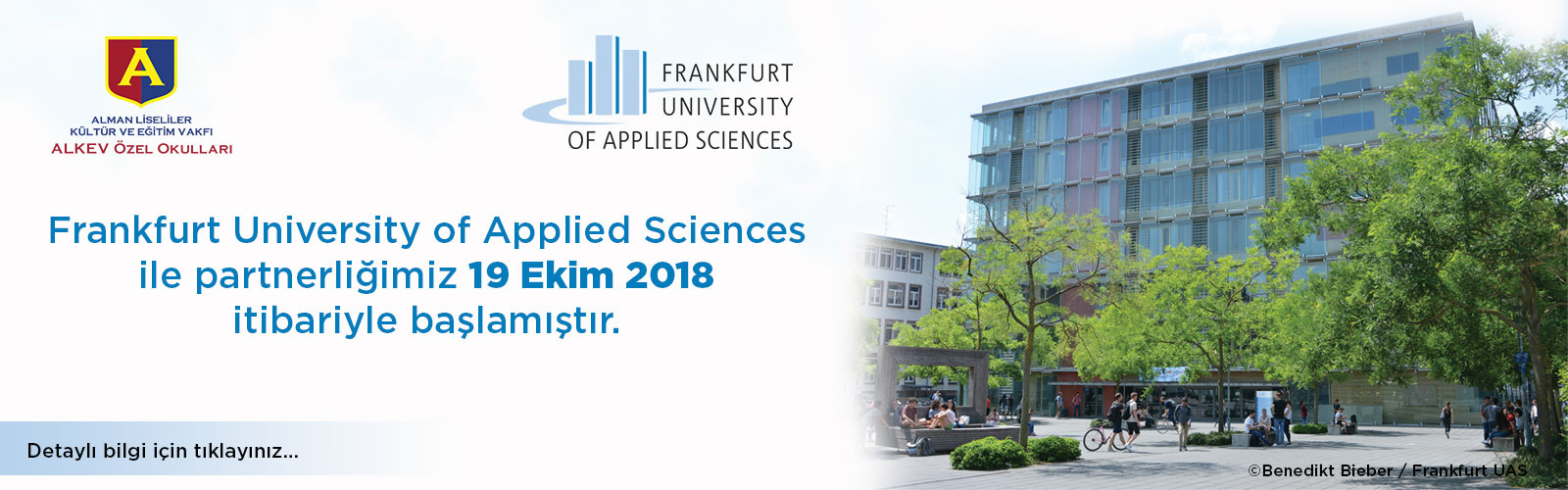 Frankfurt University of Applied Sciences Partnerliği