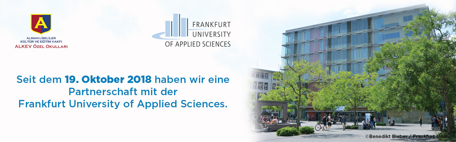 Frankfurt University of Applied Sciences Partnerschaft