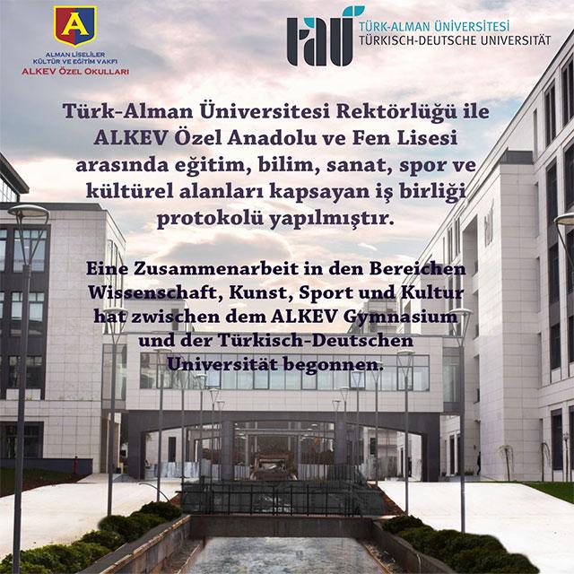 Türk-Alman Üniversitesi Partnerliği