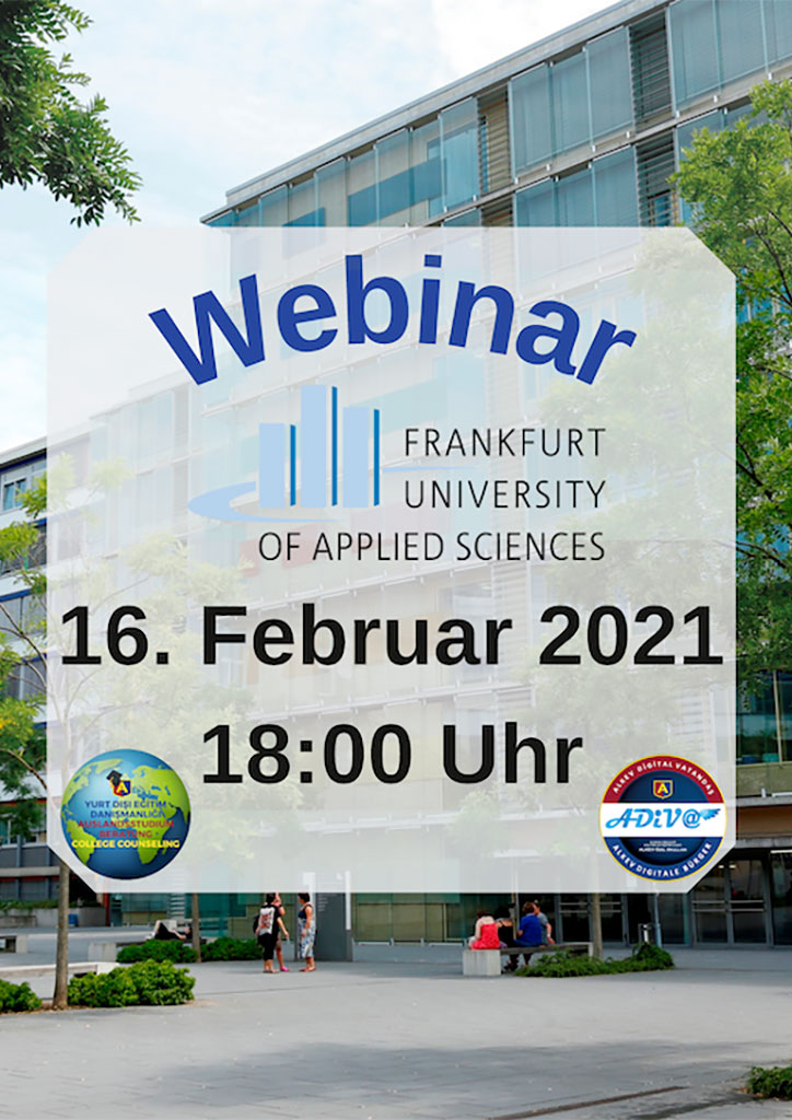 Frankfurt University of Applied Sciences Webinar