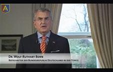 Federal Almanya Eski Büyükelçisi Dr. Wolf Ruthard Born